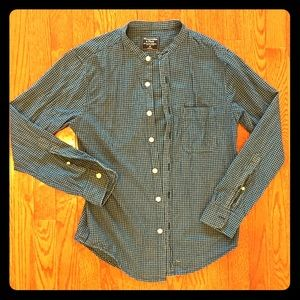 Abercrombie and Fitch button down plaid shirt